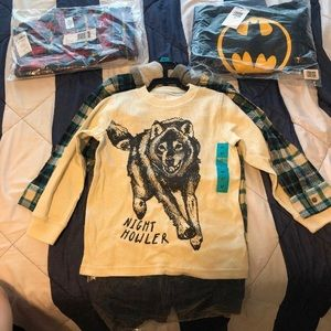 3 brand new set of boys 4T outfits!